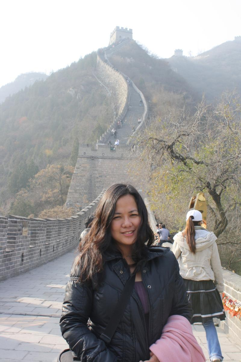 me @ the Great Wall
