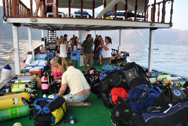Overnight dive trip