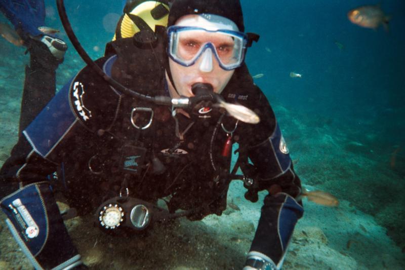 Diving at Balmoreah