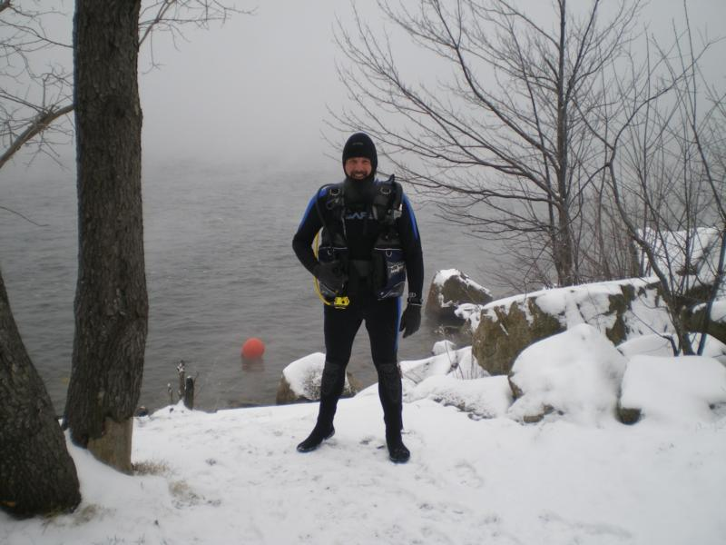 19 degrees out! / Mt. Storm Lake,WV / Mar-2011