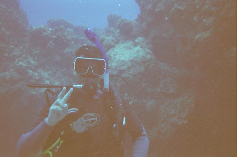 Me in Grand Cayman