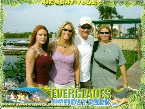 Everglades ~ Meg, Me, Scott and Jojo