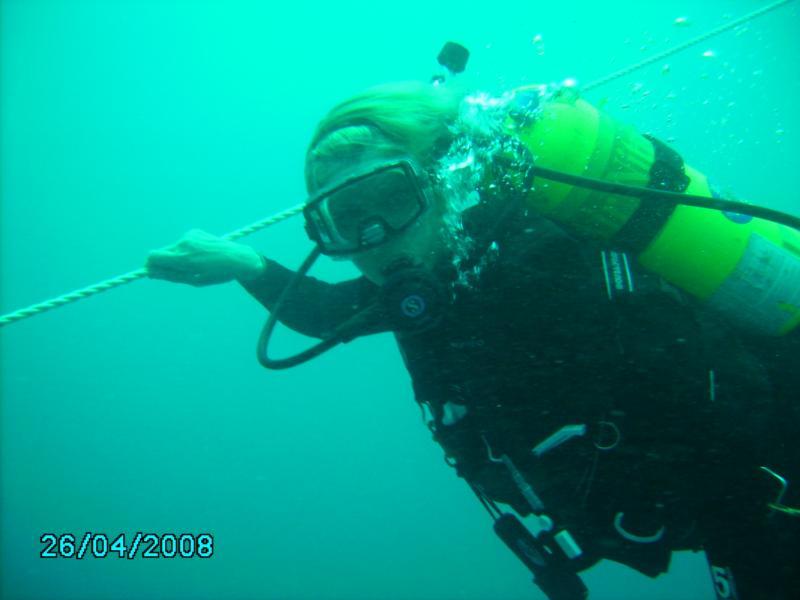 Me 1st dive