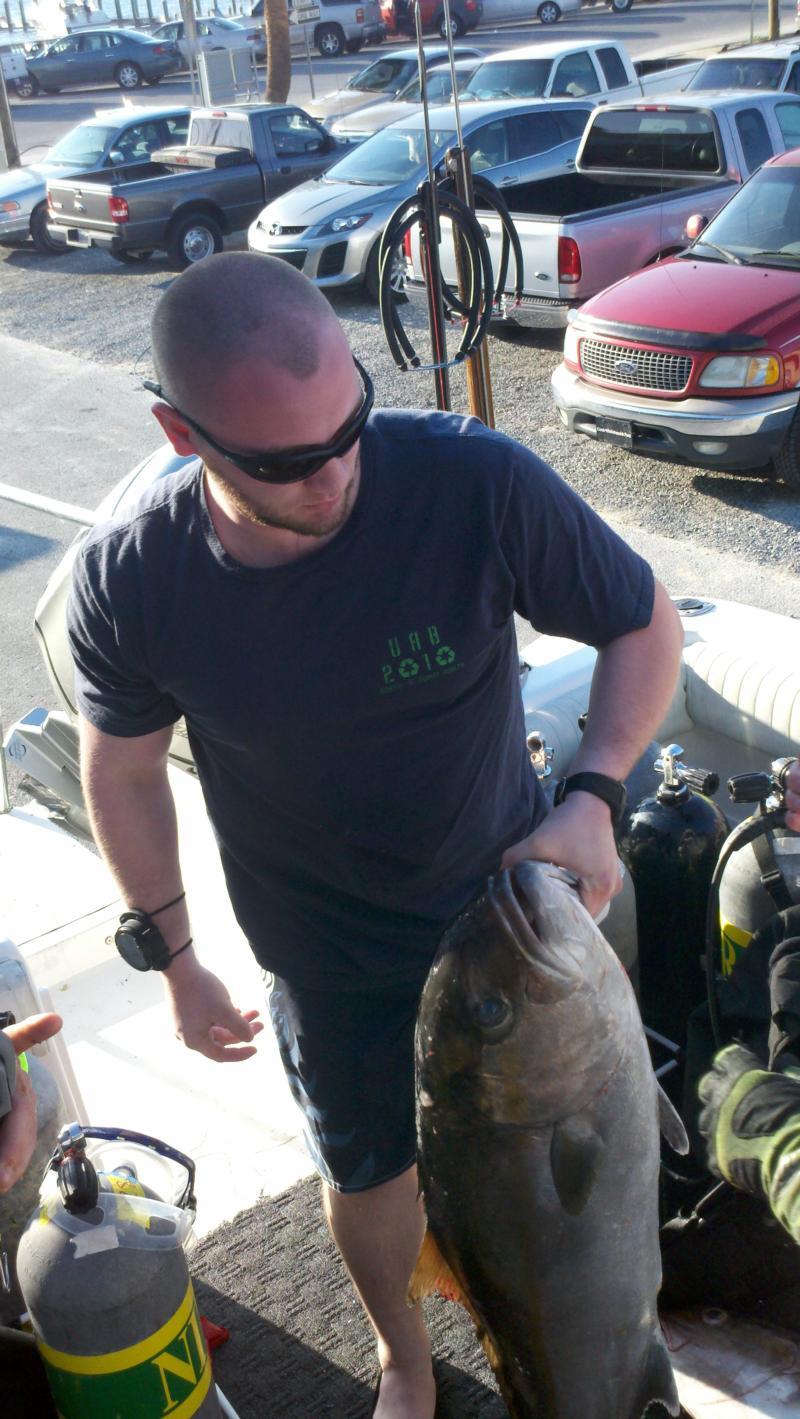 Spearfishing 3/12/11
