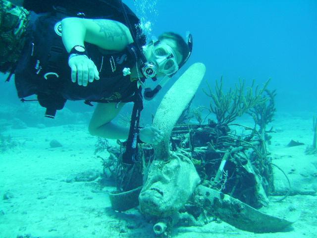 Prop from Sea Hunt, Bahamas