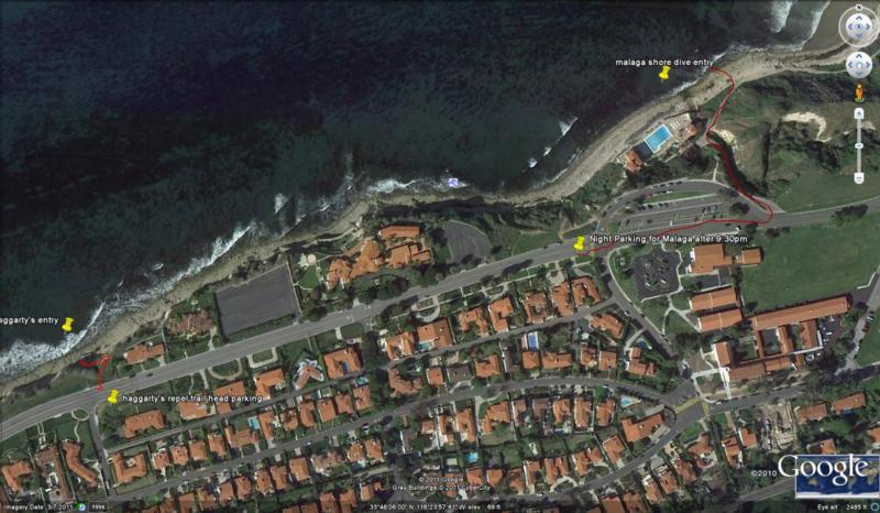 Malaga, Haggarty's parking, hikes