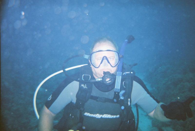 Diving in Kona, HI