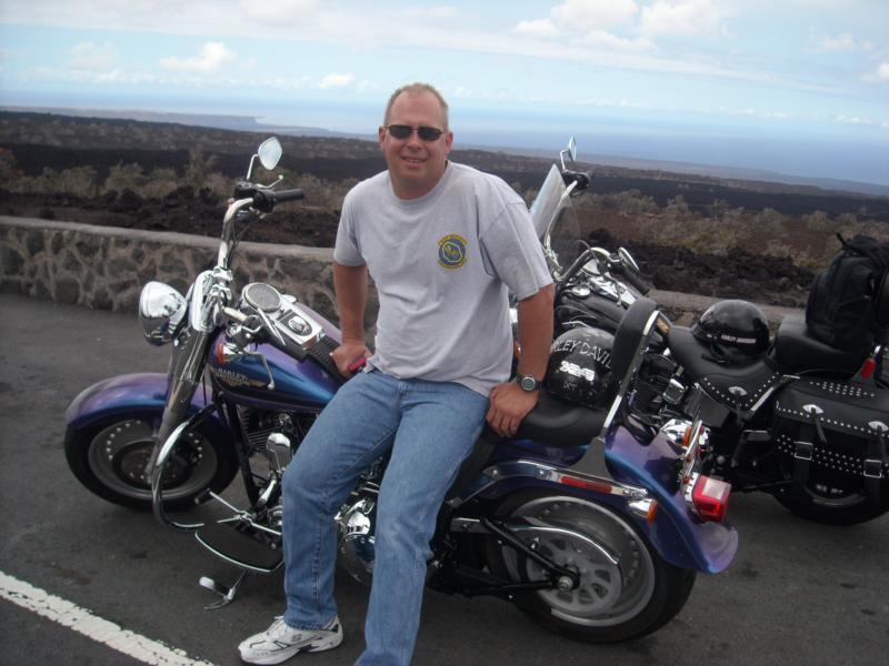 Riding Hogs on Big Island