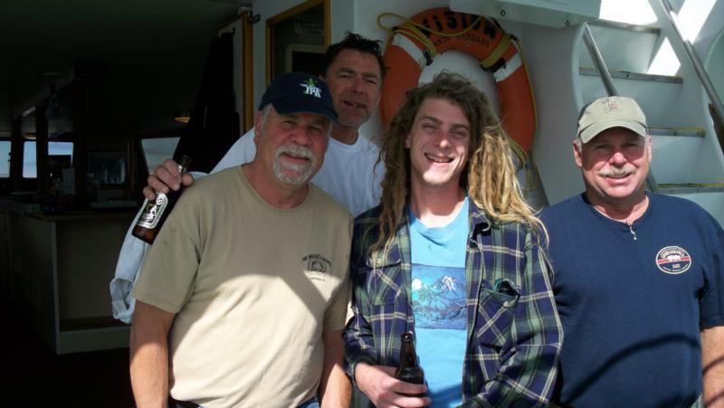 Great friends Santa Cruz islands