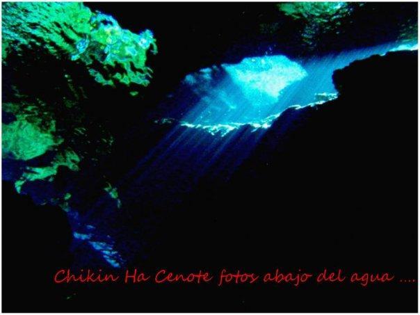 Chikin Ha Cenote, Mexico