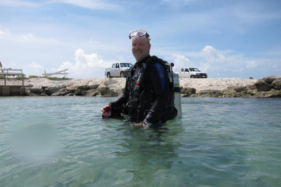 mbchiro @ Tori's Reef Dive Site Bonaire