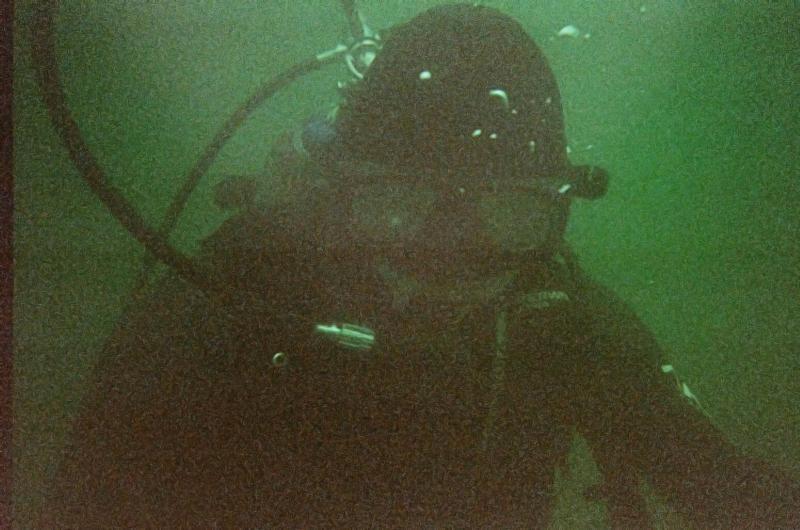 Murky Water Diver