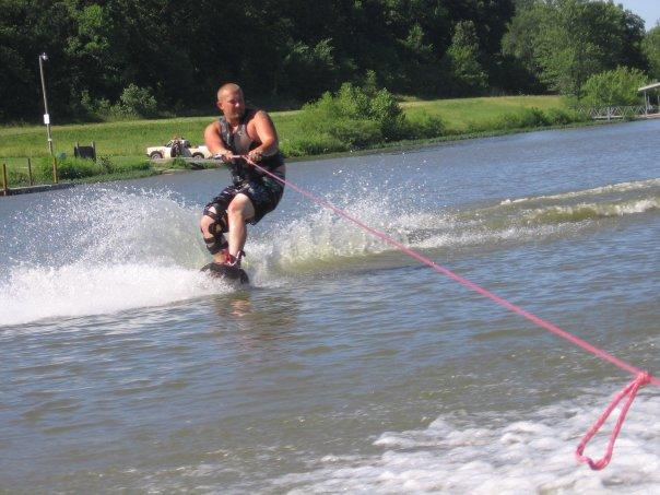 Love wakeboarding