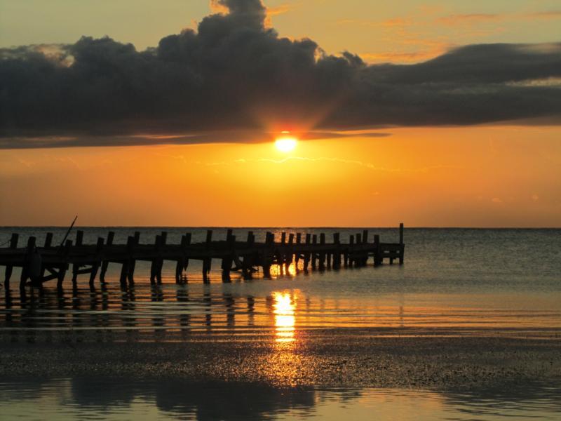 Sunrise, Ambergris Caye