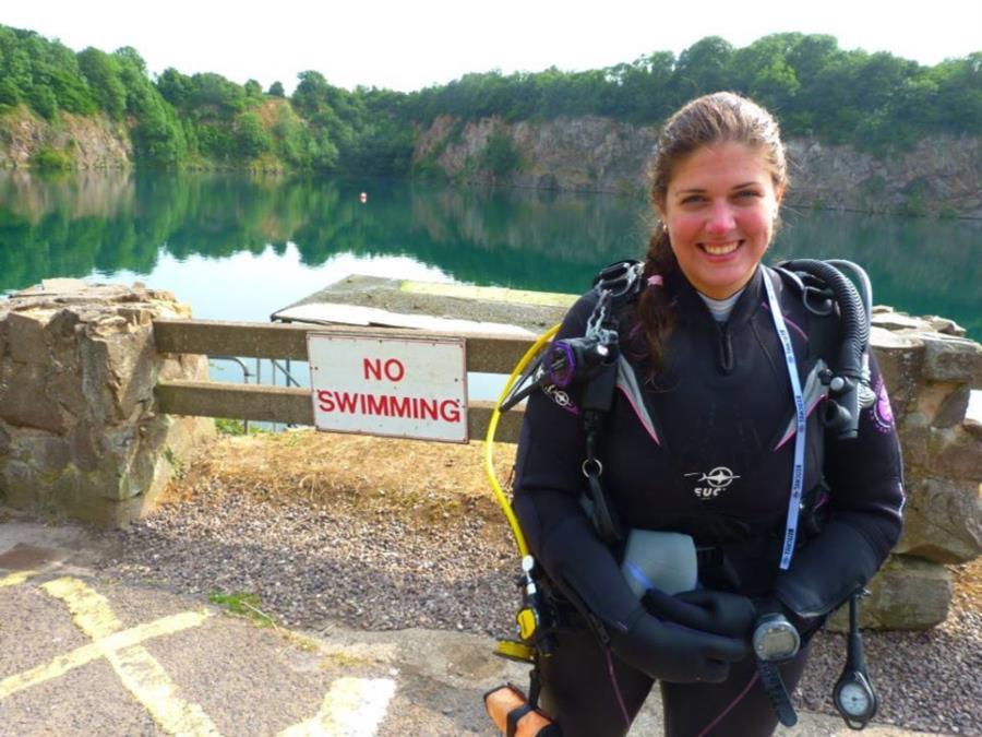 Stoney Cove Quarry Dive, England