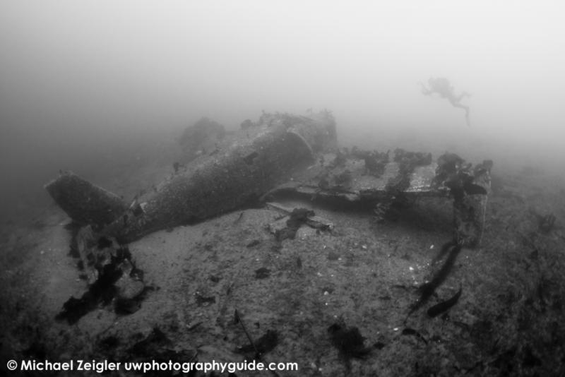 Piper Warrior wreck - Catalina Island, CA