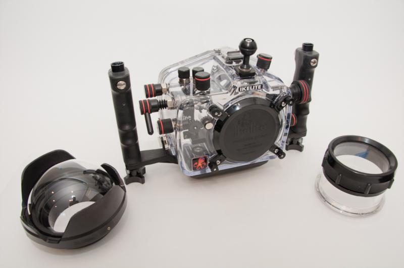 Ikelite D90 housing and ports