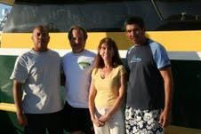 Faye and Steve and 2 friends from Aruba