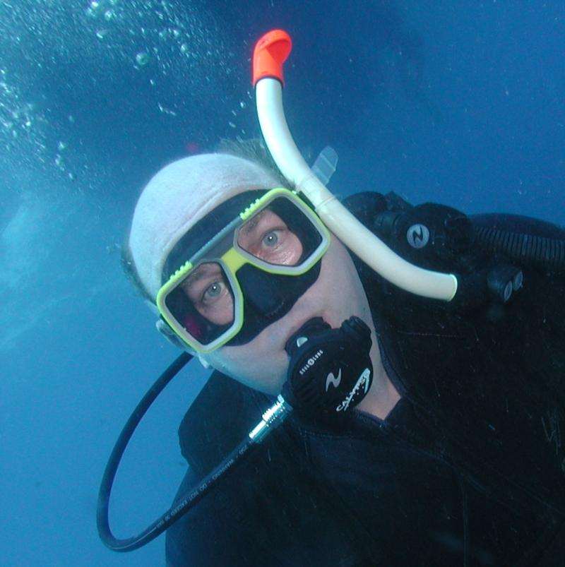 First dive ever - the Great Barrier Reef!