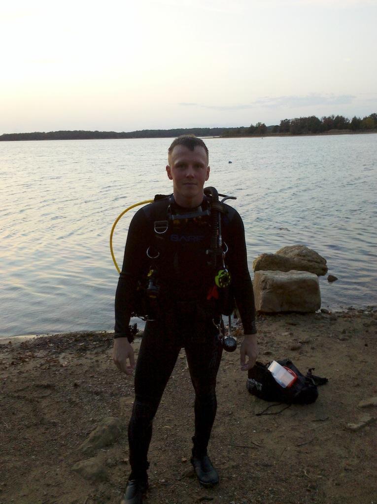 Me at Lake Murray, OK