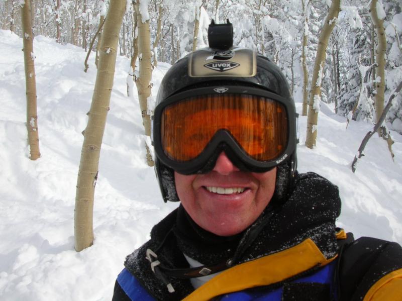 deep snow snorkel !