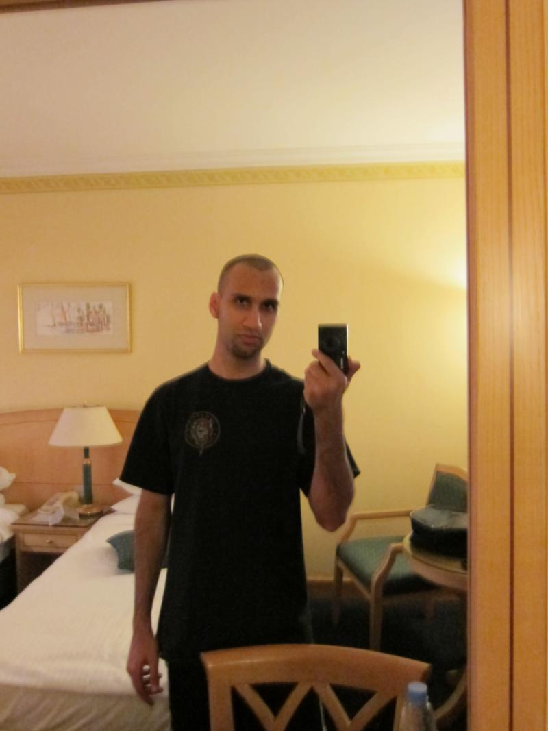 me in a hotel room 2011
