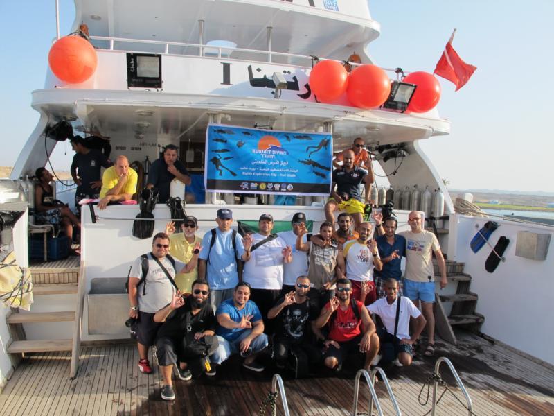 kuwaiti diving team :P
