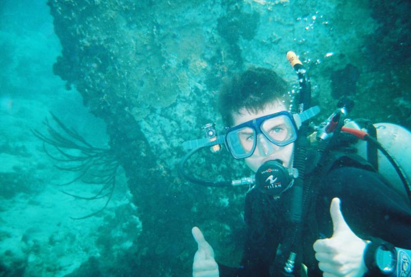 Diving East Wind (Virgan Islands)