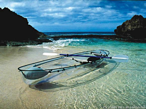 Adding 6 of these Clear Blue Hawaii canoe's for the family members that don't dive! Follow Us!