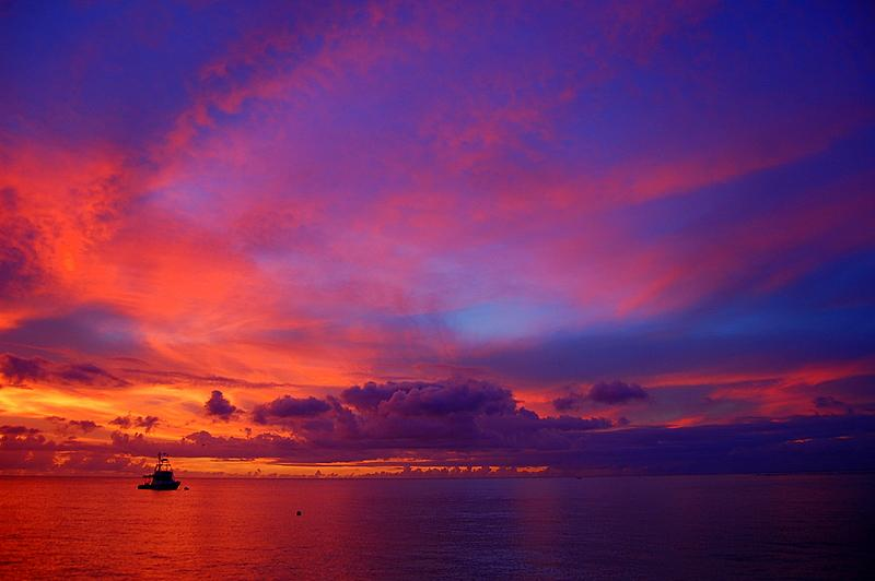 Pirates Bay- Sunset