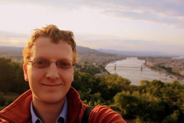 Myself, Budapest, Hungary