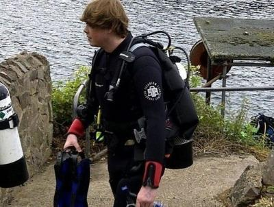 Me - Open Water dives at Stoney Cove