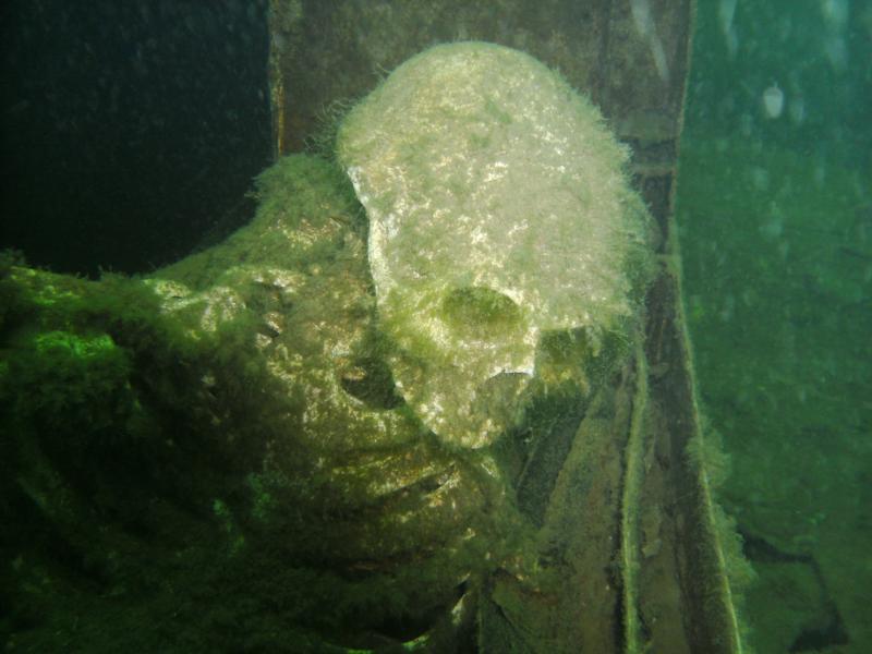 skeleton at lakeview