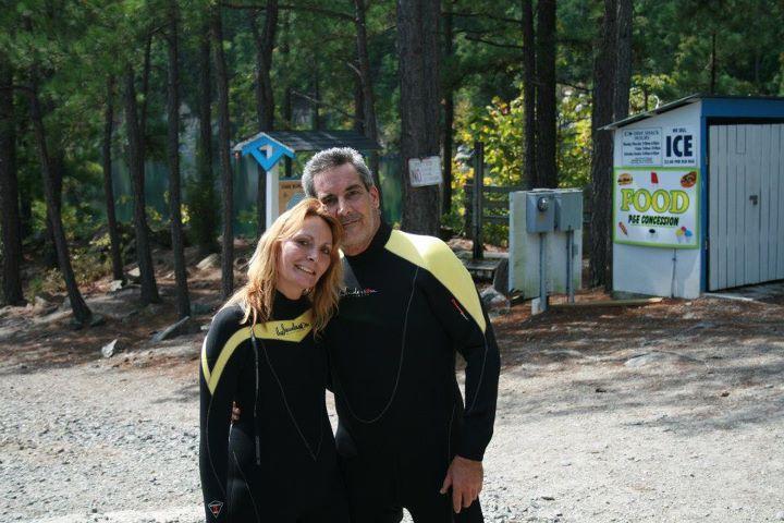 Densie and I, Lake Rawlings Va