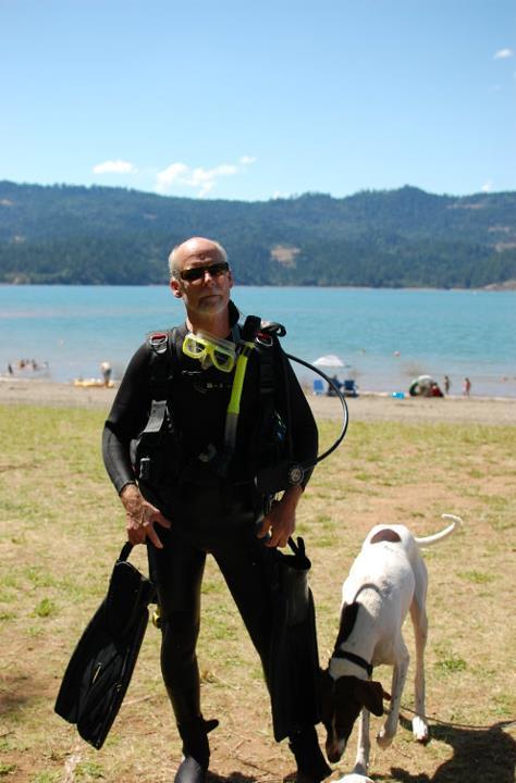 Diving at Lost Creek Lake