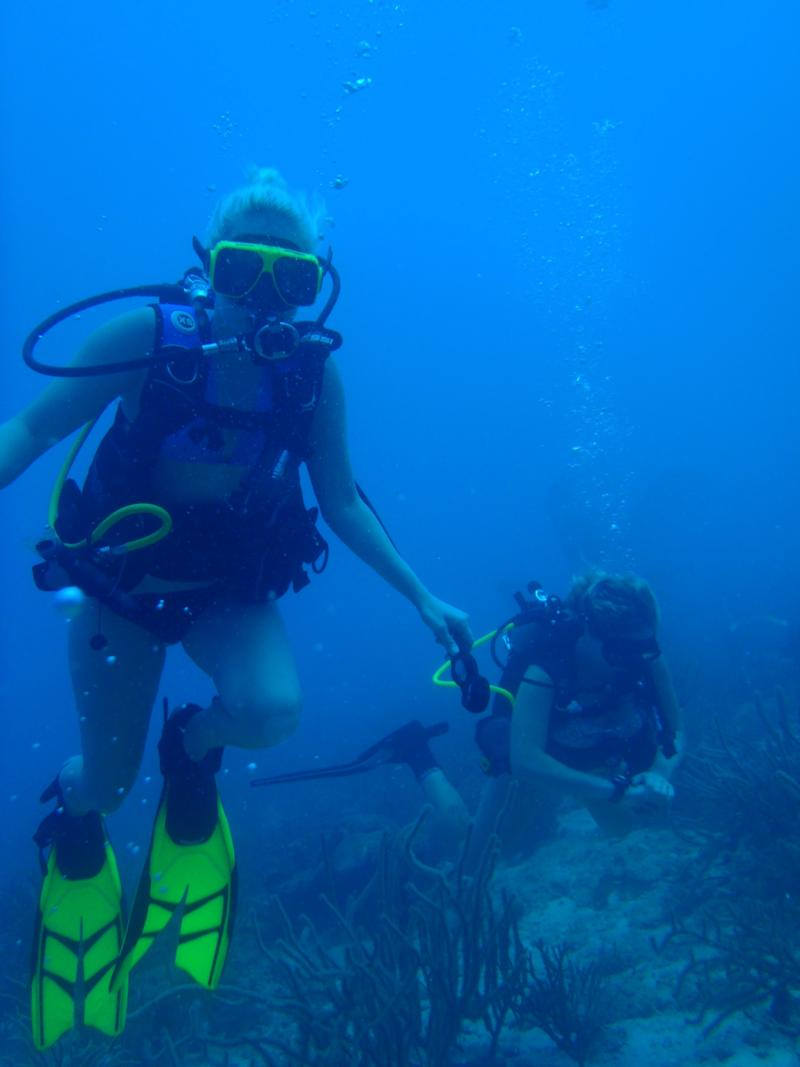 Its Me on My 7th Dive in Aruba