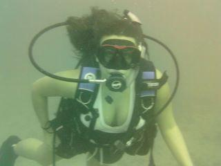 Myself in the Gulf of Mexico