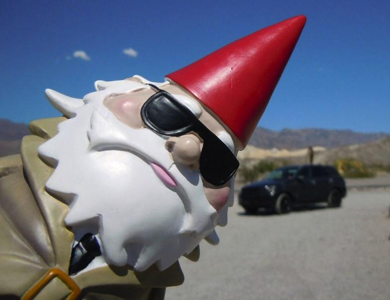 Gnome on the roam (my travel buddy)