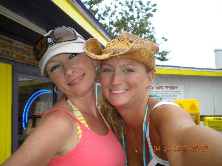 Gret and Wendy at regans in st. joe beach