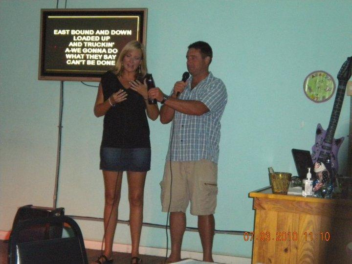 Me and Wendy Weston at st. joe beach florida