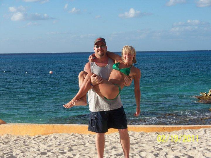Me and my lady Cozumel