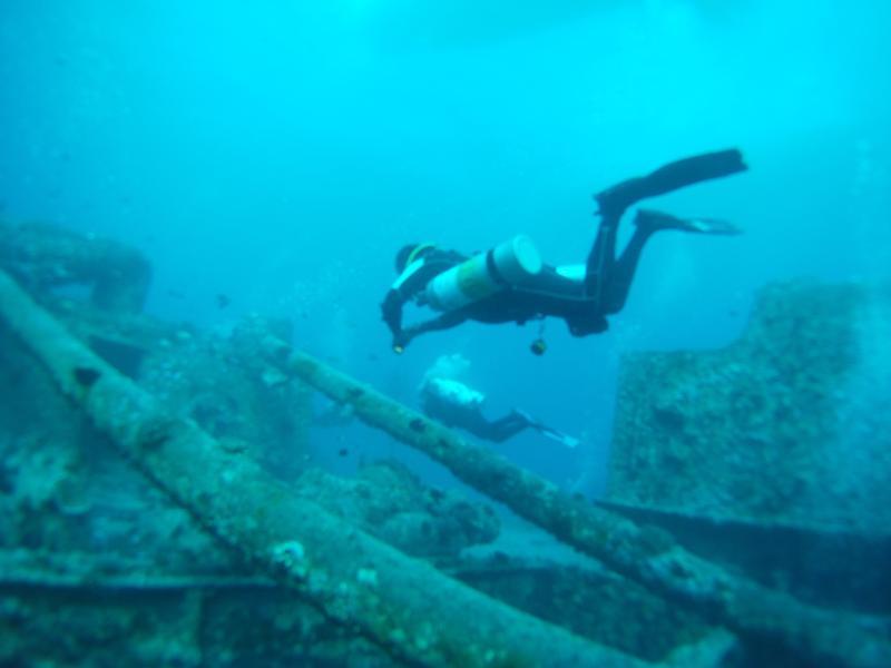Abdul side mount SS Thistlegorm