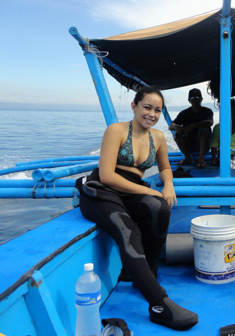 Me in Sabang, Philippines
