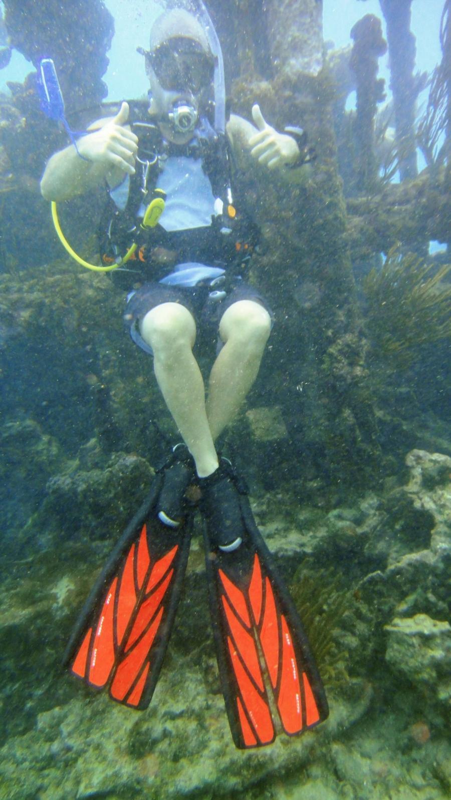 Wreck dive in Antiuga