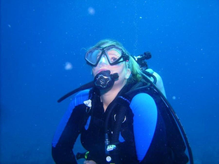 Diving in Saba
