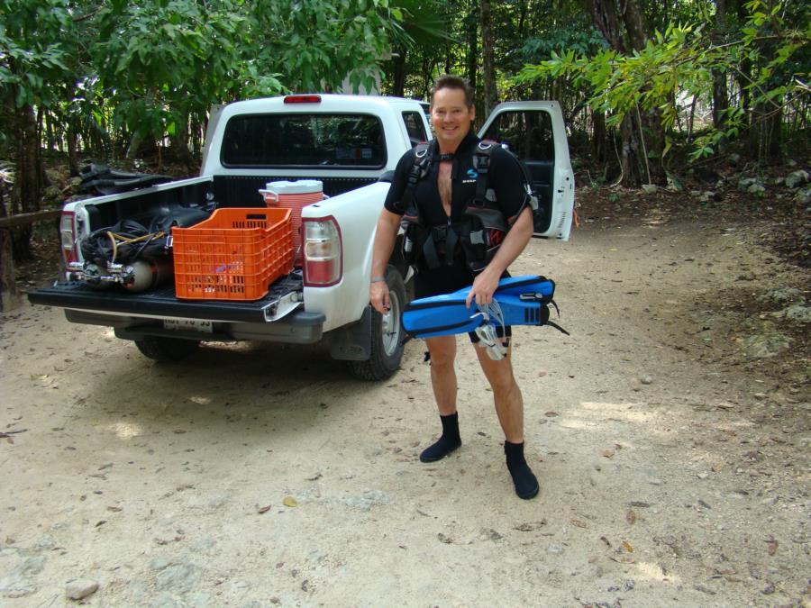Angelita Cenote Mexico