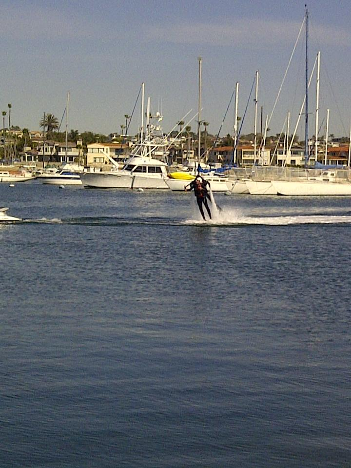 JetLev Newport Beach Water Jet Pack