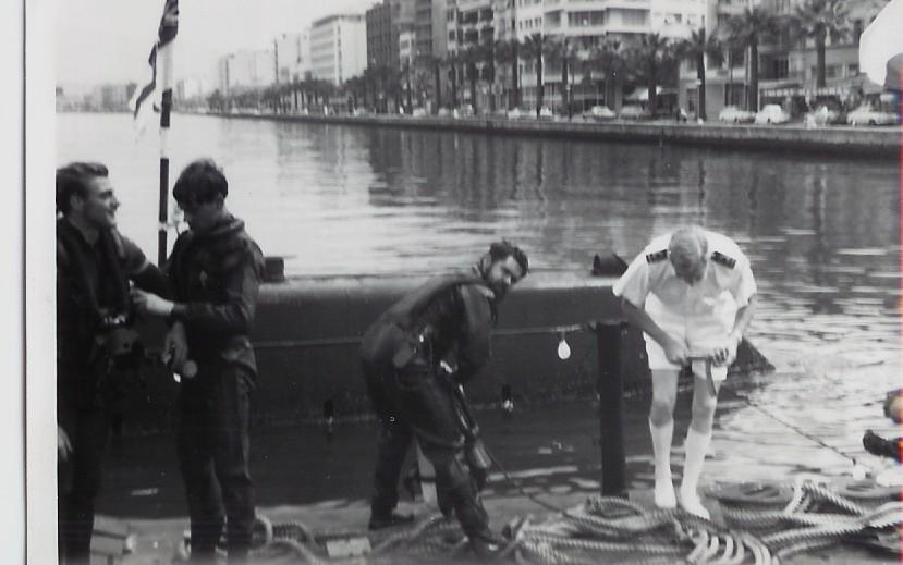 submarine repair work