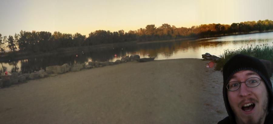 Night dive at Haigh Quarry