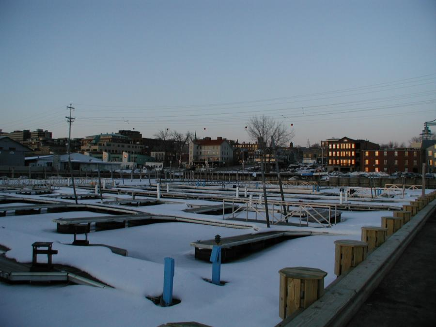 Burlington Vt. Harbor